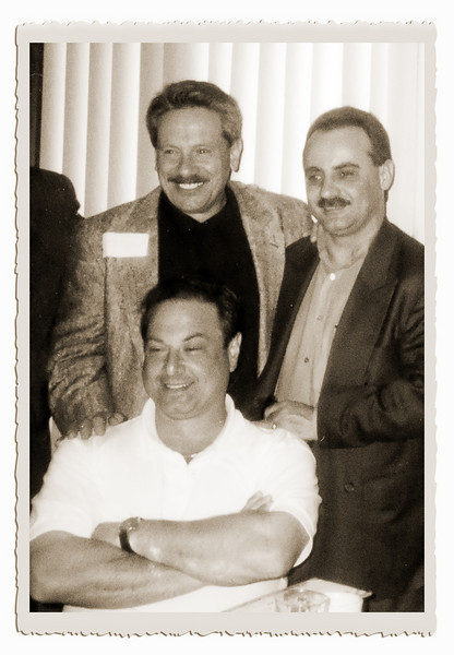 Marshall Benedetti, John Antignani, and Dennis Petito (sitting)