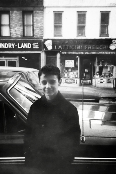 John Antignani on Fulton Street (early 60's).  See Jimmy's Latticini in the background?