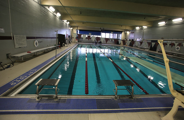 Lowell High swimming pool 020718