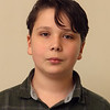 Alden Raisbeck, 13, 7th grade. Lowell 'all-star' Knowledge Bowl team that will compete in regional Knowledge Bowl. (SUN/Julia Malakie)
