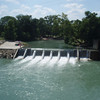 Zedler dam (off limits in the 40's)  Now folks swim above the dam across from Zedler's Mill building.6/23/12