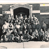 Senior Class of 1947 on West Steps of High School Building