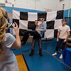 Students take a turn in the photo booth during the Goodbye Lunenburg High Sock Hop on Saturday afternoon. The event marked the last dance that will be held in the building before it is torn down and paid homage to the year the school was built, 1957. SENTINEL & ENTERPRISE / Ashley Green