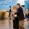 Gretchen Henry and David King share a dance during the Goodbye Lunenburg High Sock Hop on Saturday afternoon. The event marked the last dance that will be held in the building before it is torn down and paid homage to the year the school was built, 1957. SENTINEL & ENTERPRISE / Ashley Green