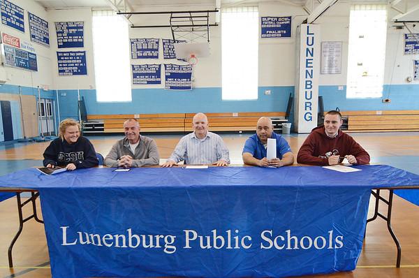 Lunenburg Athletes sign 2015 letters of intent