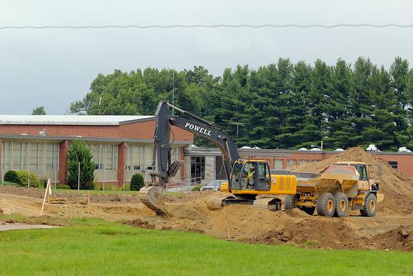 Lunenburg High construction
