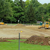 Work was being done on Friday afternoon on the new fields in front of Lunenburg High School.  SENTINEL & ENTERPRISE/JOHN LOVE