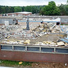 Demolition of the old Lunenburg High School continued as town residents were given a tour of the new middle/high school on Thursday morning. The school is scheduled to open in the fall with the new school year. SENTINEL & ENTERPRISE / Ashley Green