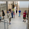 Lunenburg residents were given a tour of the new middle/high school on Thursday morning. The school is scheduled to open in the fall with the new school year. SENTINEL & ENTERPRISE / Ashley Green