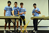 The spaghetti bridge building competition held at Montgomery County Community College.   Thursday,  July 24, 2014.  Photo by Geoff Patton