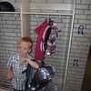 Magnus' plads på gangen