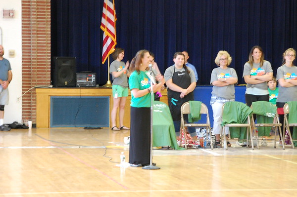 Manchester Elementary Middle School Brave the Shave for St. Baldrick's Foundation