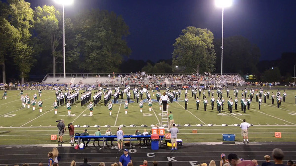 Marching Band 1/2 time and other video and photos/ Bay
