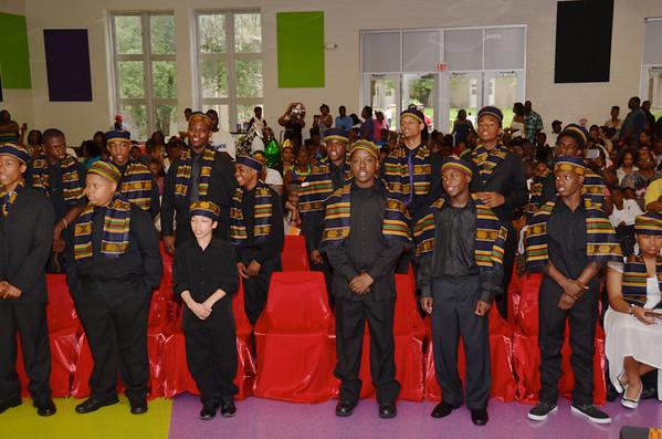 Marcus Garvey Academy Graduation 2013