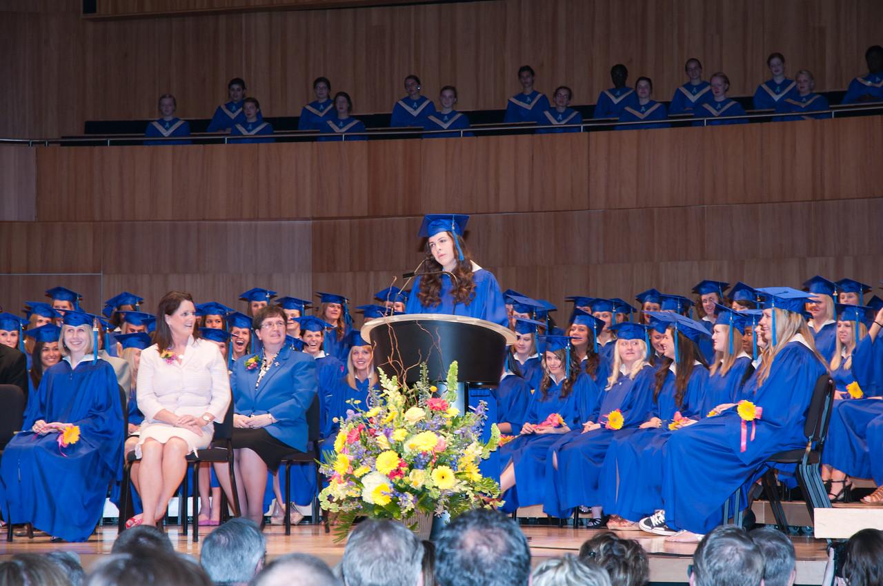 Valedictory Address by Mary Elizabeth Pistillo