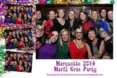 Marquette Mardi Gras 2014