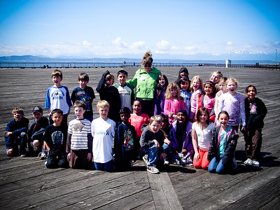 CR Fieldtrips - Seahurst Park, Seattle Aquarium, Woodland Park