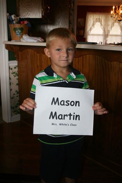 Mason Kindergarten Kamp 2013