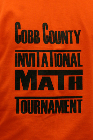2008 10.25 Cobb County Invitational Math Tourny