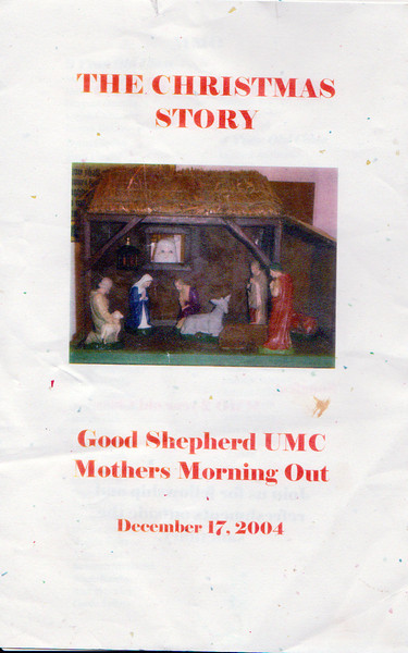 Matthew 2004 Christmas Program