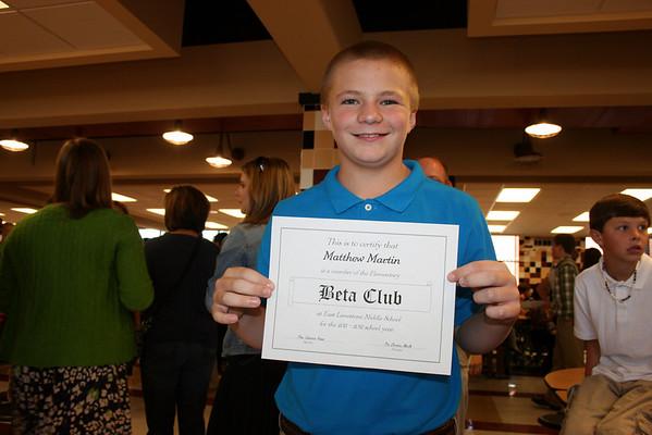 Matthew Beta Club