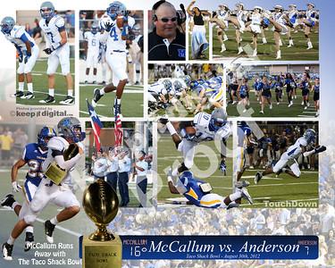 McCallum vs Anderson Taco Shack Bowl