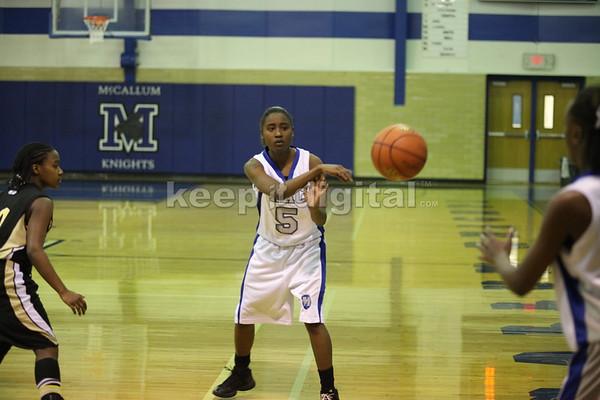 McCallum Girls Basketball vs Lanier