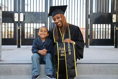 Megan Cuff Graduation Portraits
