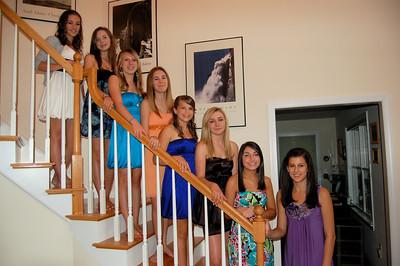 Joanna, Heather, Nicolette, Morgan, Caitlyn, Brittany, Jill, Megan