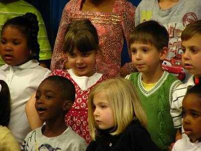 Meghan's Kindergarten Concert