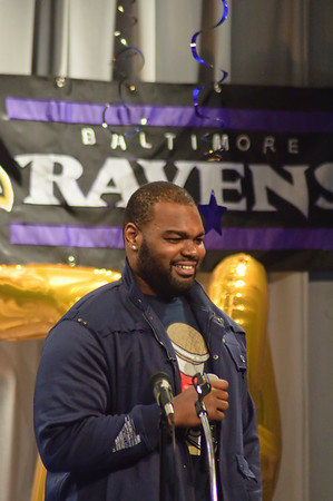 Michael Oher Visit February 10th 2012