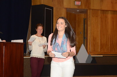 Middletown HS South Recognition Ceremony 11-11-2014