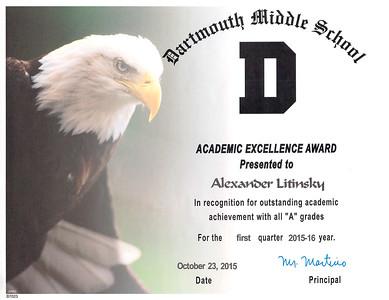 2015-2016 Grade 7 Dartmouth