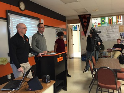 Mike Smalley WGN TV Teacher of the Month