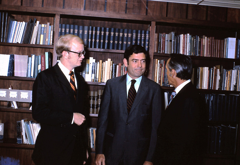 Rick Hohlt, Dan Rather, and Dr. Paul McKay