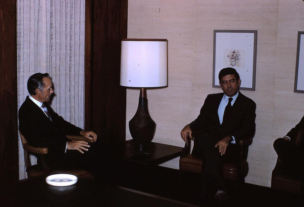 Dr. Paul McKay and Dan Rather