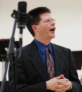 Mr. Benson, band director.