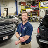 Dave Lelievre, Auto Body instructor at Monty Tech. SENTINEL & ENTERPRISE / Ashley Green