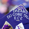 Decorated graduation caps are seen during the 45th commencement ceremony held at Monty Tech on Wednesday evening. SENTINEL & ENTERPRISE / Ashley Green