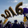 Students enter the 45th commencement ceremony held at Monty Tech on Wednesday evening. SENTINEL & ENTERPRISE / Ashley Green