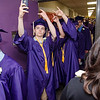 Graduates gather for photos ahead of the 45th commencement ceremony held at Monty Tech on Wednesday evening. SENTINEL & ENTERPRISE / Ashley Green