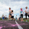 Walkers participate in the Colorful Change at Monty Tech on Saturday, April 23. The event was created by students in the Youth Venture program and the proceeds were to benefit local children in foster care. SENTINEL & ENTERPRISE / Ashley Green
