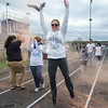 Jen Braley participates in the Colorful Change at Monty Tech on Saturday, April 23. The event was created by students in the Youth Venture program and the proceeds were to benefit local children in foster care. SENTINEL & ENTERPRISE / Ashley Green