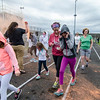 Walkers participated in the Colorful Change at Monty Tech on Saturday, April 23. The event was created by students in the Youth Venture program and the proceeds were to benefit local children in foster care. SENTINEL & ENTERPRISE / Ashley Green