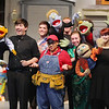 "Montachusett Vocational Technical High School will be putting on the play  ""Avenue Q"" on Friday February 28th at 3:30 p.m., Saturday March  1st at 7 p.m. and Sunday March 2nd at 2 p.m. at the school. Many of  the cast members and some of the puppets performing on stage during a dress rehearsals on Thursday afternoon. SENTINEL & ENTERPRISE/JOHN LOVE"