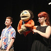 "Montachusett Vocational Technical High School will be putting on the play  ""Avenue Q"" on Friday February 28th at 3:30 p.m., Saturday March  1st at 7 p.m. and Sunday March 2nd at 2 p.m. at the school. Alex Blanchard playing Brian lisens to Tylene Dickie as she performs with Kate Monster during a dress rehearsals on Thursday afternoon. SENTINEL & ENTERPRISE/JOHN LOVE"