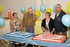 Retirement dinner for Steve Hubbard and Lynn Sutherland from Moosonee Public School 2006 June 29.