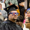 Graduates enter the commencement ceremony at Mount Wachusett Community College on Wednesday evening. SENTINEL & ENTERPRISE / Ashley Green