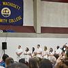 The Mount Wachusett Community College nurses pinning ceremony was held on Thursday evening. SENTINEL & ENTERPRISE / Ashley Green