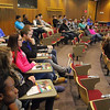 High School juniors from around the region got to participate in the Junior Symposium at Mount Wachusett Community College on Wednesday to participate in college preparation workshops. SENTINEL & ENTERPRISE/JOHN LOVE